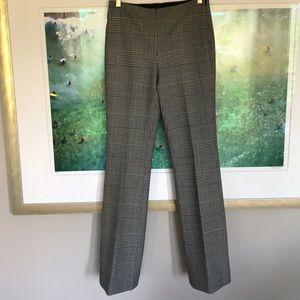 Theory Check/ Plaid Wool Pants